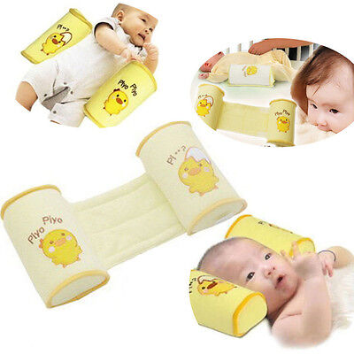 Newborn Infant Baby Safe Support Sleep Positioner Prevent Flat Head Shape Pillow