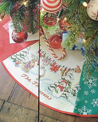 THE PERFECT FINISH TREE SKIRT  CHART ONLY xmas