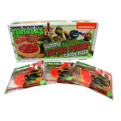 Official Teenage Mutant Ninja Turtles Gummy Turtle Power Candy Pizza - Boxed