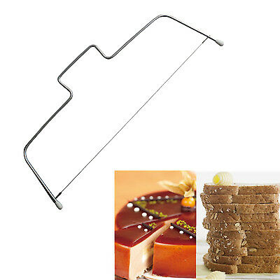 Cake Cutter Leveller Adjustable Wire Bread Slicer Cutting Decorating Tool