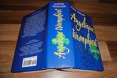 Anne Golon -- ANGELIQUE # 12 TRIUMPHIERT // Hardcover 1990