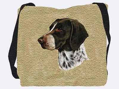 Woven Totebag - German Shorthaired Pointer 1946