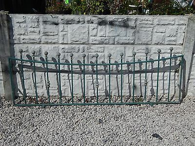 Wrought iron railings / driveway / wall toppers / garden / metal / galvanised