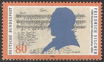 Germany 1989 Friedrich Silcher/Music/Composer/People/Musical Score 1v (n31519)