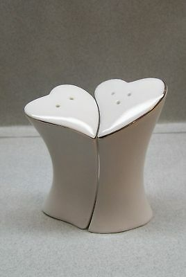 White Hearts Valentines Together Salt & Pepper Shakers Ac