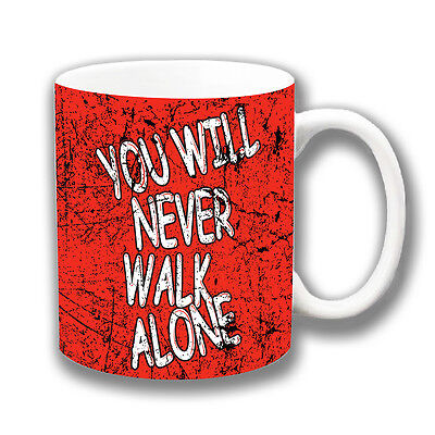 Liverpool Fc You Will Never Walk Alone Coffee Mug Christmas Gift Stocking Filler