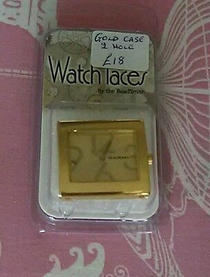 Gold Watch Face by the Beadsmith. Jewellery Making Narmi. New in box 3 available