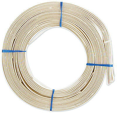 Flat Oval Reed 1/2 Inch 1 Pound Coil-Approximately 90 752303702685