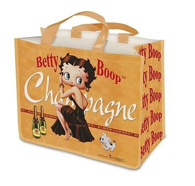 Betty Boop Large Reuseable Shopping Bag Tote New
