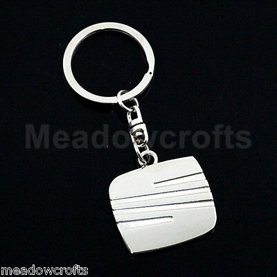 SEAT Key Ring NEW with Gift Box - UK Seller - Silver - Car