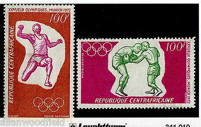 Central African Republic   #c93-C94   Mint Nh   (16072247)