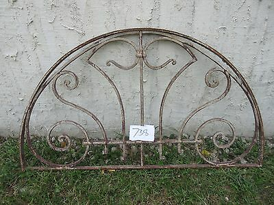 Antique Victorian Iron Gate Window Garden Fence Architectural Salvage #738