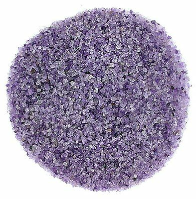 1/4 Ounce Brazilian Amethyst  Chip 2mm And Less No Powder Inlay Sand Painting