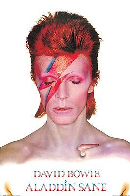 DAVID BOWIE Poster - ALADDIN SANE - BOWIE Music poster PP31521