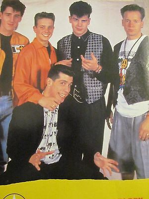 New Kids on the Block, Full Page Vintage Pinup, NKOTB