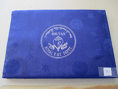 """57 Stamps Bhutan Post Mint Uncirculated Commemoratives Stamps Booklet """"A""""- #567"""