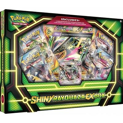 Pokemon TCG Shiny Rayquaza EX Box Brand New