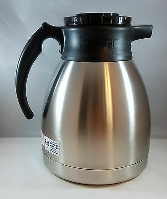 Oasis Coffee Carafe 64oz Stainless Steel FreshStart 033610-001 Thermal Brewer