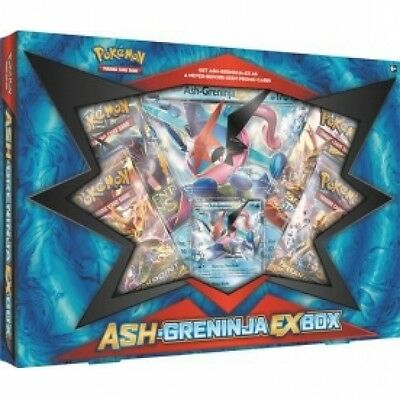 Pokemon TCG Ash-Greninja-EX Trading Card Box Brand New