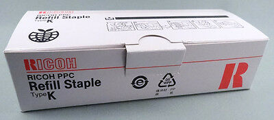 Ricoh PPC Refill Staples Type K 410802 no. 502R-AM NEW