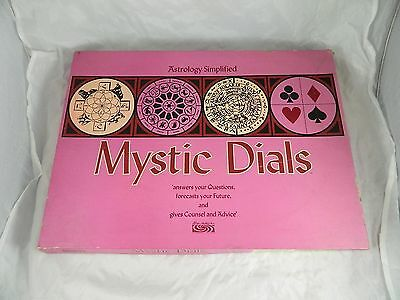 Mystic Dials Astrology Simplified Parker Brothers Vtg Halloween Fortune Telling