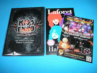 KISS Expo Tokyo 2016 Limited Official Guide Book w/Promo Flyers Japan NEW Sealed