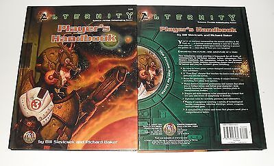 TSR Alternity Science Fiction Roleplaying Game Player's Handbook RPG Game #2800