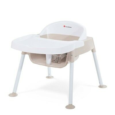 """Foundations Secure Sitter 9"""" Feeding Chair - Tan/White"""