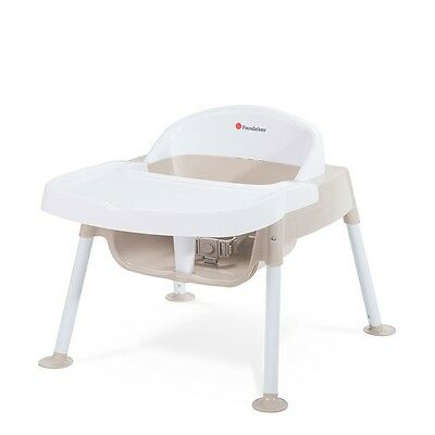 """Foundations Secure Sitter 7"""" Feeding Chair - Tan/White"""