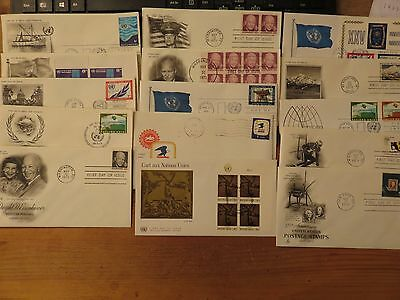 USA 1970s   First Day Of Issue Covers Lot 15 pieces *