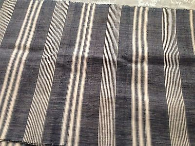 Beautiful Vintage Hand-Woven Fabric