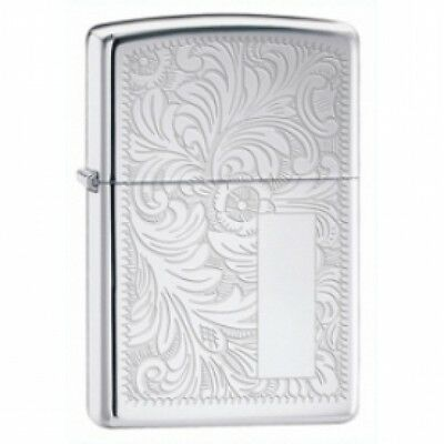 Zippo Venetian High Polish Chrome Lighter Brand New