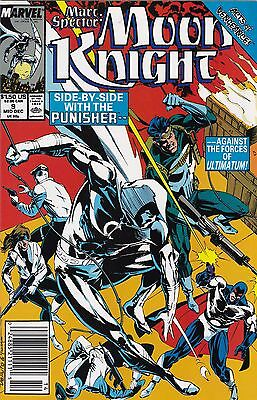 1989 Marvel Comics Moon Knight Comic Book #9 Marc Spector Acts of Vengeance