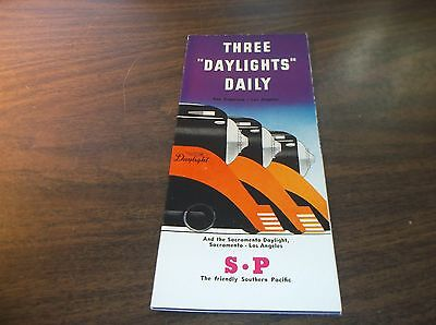 August 1946 Southern Pacific Daylight Streamliner Brochure