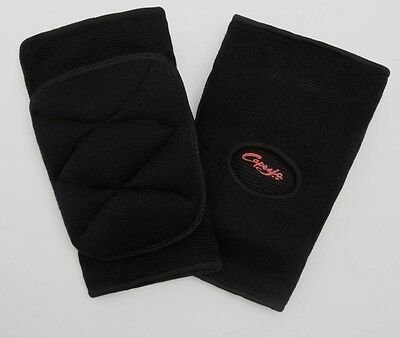 Capezio Kneepads KP01 dance jazz knee pads black new pair