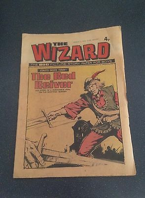Vintage Wizard Comic Aug 3rd 1974