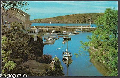 ANGLESEY POSTCARD - Cemaes Harbour PLX24077