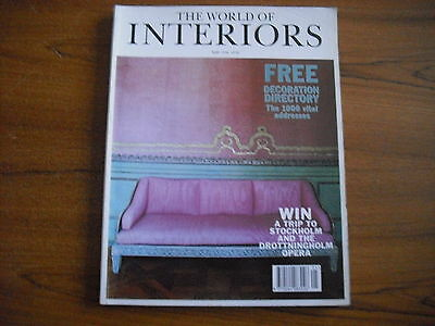 The World Of Interiors - May 1996