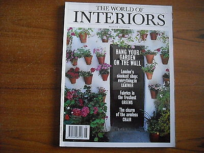 The World Of Interiors - August 1995