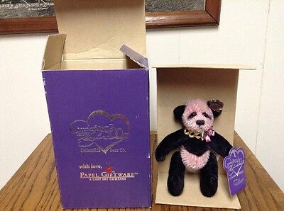 Rare New In Box Annette Funicello Collectible Bear Co., Charlotte Papel Giftware