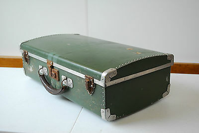 Travelling trunk shipping chest vintage military case luggage aircraft RAF WW2