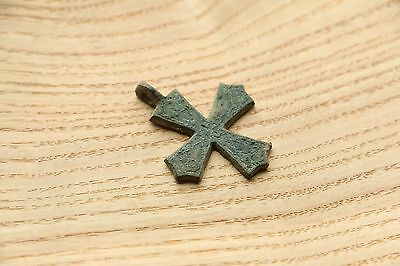 Amazing Viking Kievan RUS Pendant Cross 10-12 AD