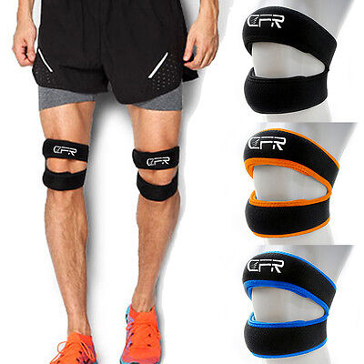 Patella Support Open Knee Brace Strap Sport Injury Arthritis Tendon Tension Band