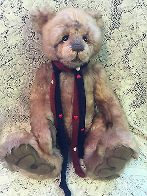 Charlie Bears Mr. Wright 2015 Isabelle Mohair Collection FREE US SHIP
