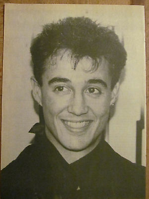 Wham!, Andrew Ridgeley, Full Page Vintage Pinup, Wham