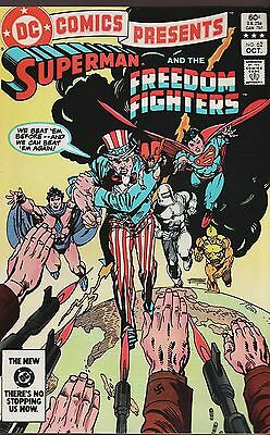 DC Comics Presents No.62 / 1983 Superman and The Freedom Fighters
