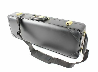 SOPRANO Saxophone CASE - Wood / Faux Leather - Case ONLY -