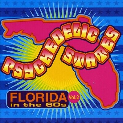 Various Artists - Psychedelic States: Florida In The 60s, Vol. 2 [New CD]