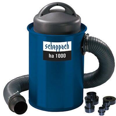Scheppach HA1000 Dust Extractor with Reducer Kit 240V