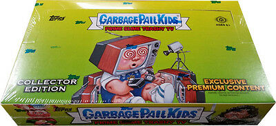 Garbage Pail Kids 2016 Trashy TV Factory Sealed Hobby Collector's Box